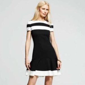 Peter Som Colorblock Dress 4  Fit & Flare